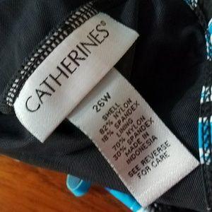 Catherines Swim - 26W Catherine's Fringe Tankini Swimsuit Top
